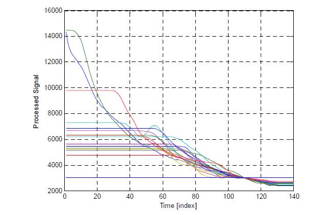 평준화(normalized)된 혈당 신호