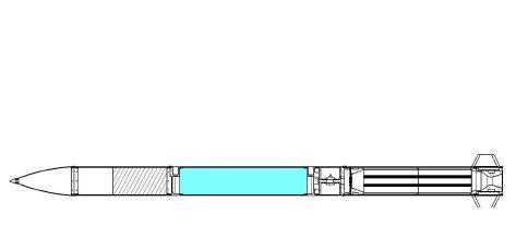 KHyRoc-Ⅱ configuration
