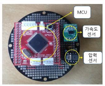 MCU, Acceleration Sensor, Pressure Sensor