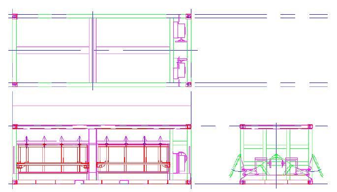 그림 3-35 호퍼형 일관수송용기 개념도 (2)