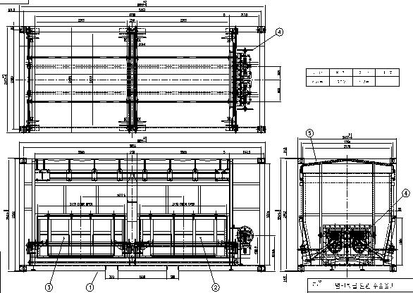 그림 3-36 호퍼형 일관수송용기 일반도