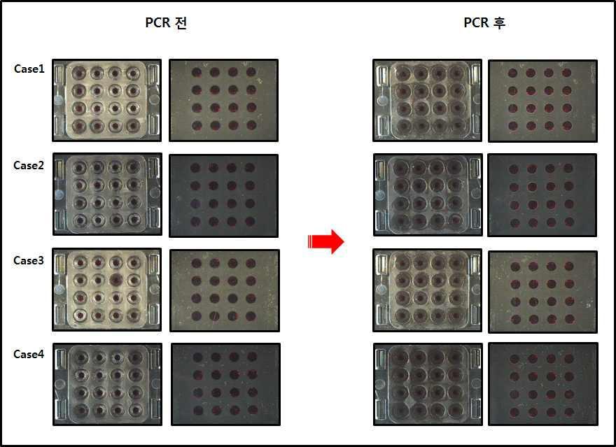 칩 내구성 (누수 및 기포) 테스트 결과