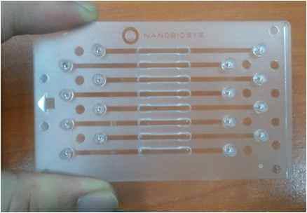 8채널 다중 유전자 분리용 샘플 전처리 칩