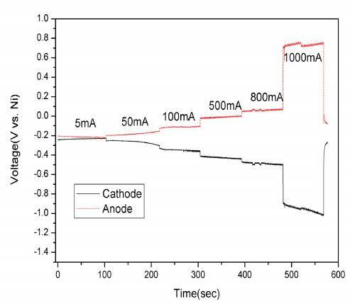 K2TaF7의 CP 그래프