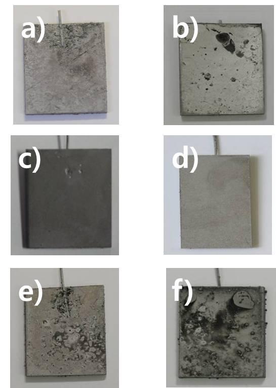전류 밀도 변화에 따른 코팅 피막의 표면 형상 분석