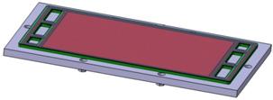 구조 해석용 고분자 연료전지 스택 구조