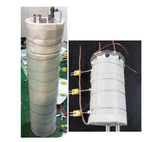 반응기 Microtherm 단열