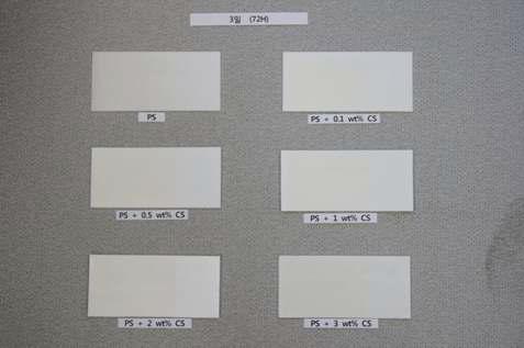 UV 조사 분해 시험 (3일)