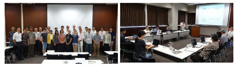 GBIF 5th Asia Regional Node Committee and Workshop on integrated Red List /Invasive Species List /Check List in East Asia