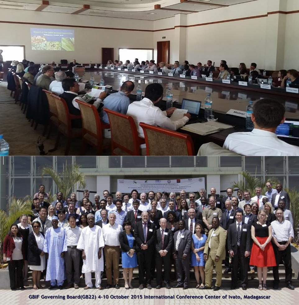 GBIF 22nd Governing Board National Delegations Meeting and Global Node Committee Meeting