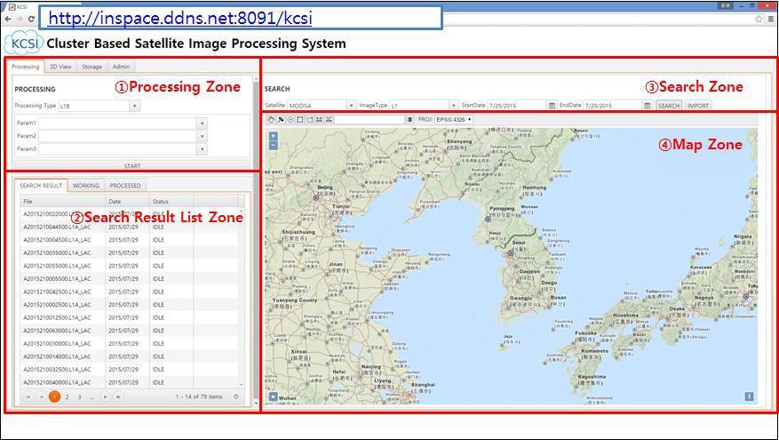 Web UI Example