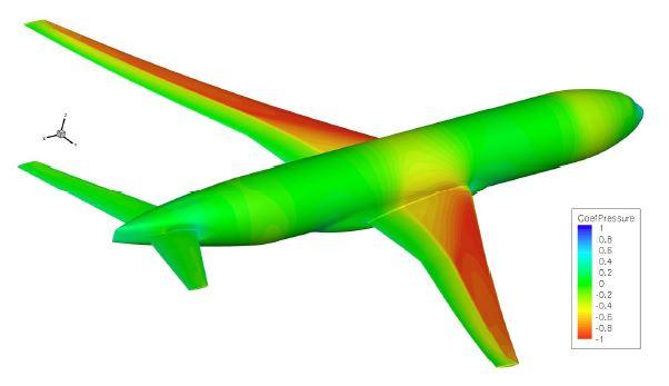 NASA CRM Wing/Body/Tail Model