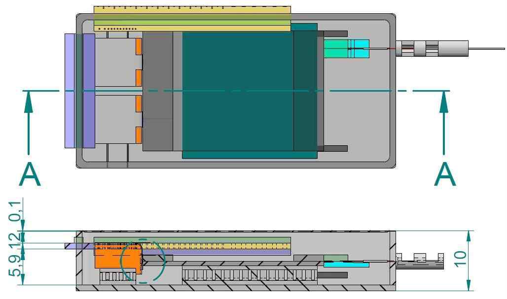 CMOS 포토닉스-전자소자 통합 모듈 내부 구조설계