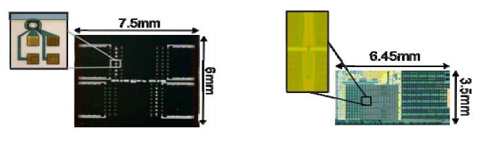 링 변조기가 포함된 SOI-photonic chip과 Ge 광수신기 어레이용 30nm SOI-CMOS photonic chip