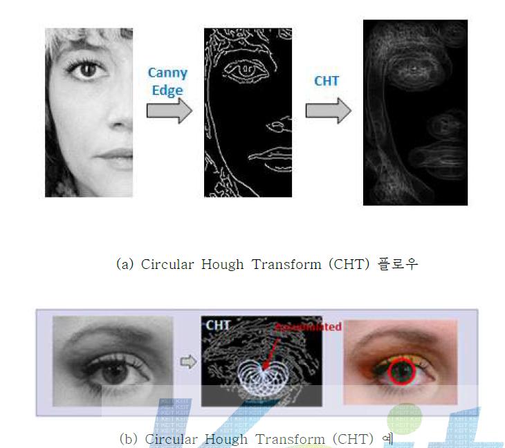 CHT 기반 눈동자 검출