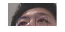 최종 검출 눈동자