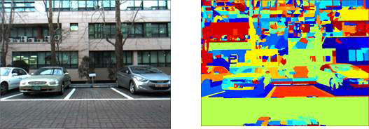 Watershed 알고리즘을 사용한 Segmentation 예