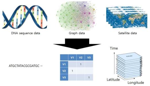 Array Representation for Scientific Data