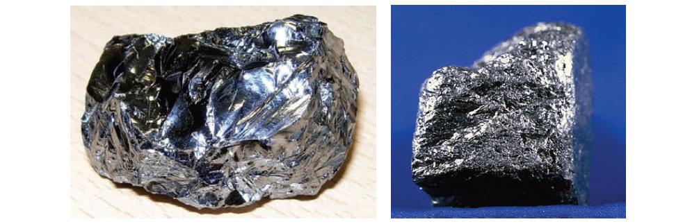 Silicon과 graphite