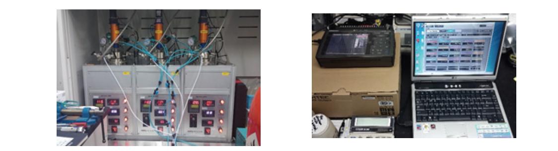 바이오타르 업그레이딩에 이용한 회분식 반응기 및 데이터 수집장치