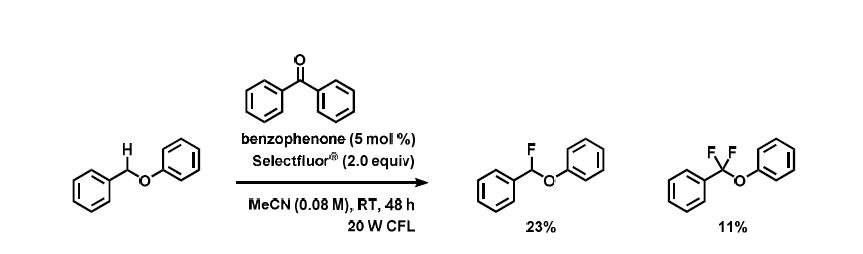 카보닐 삼중상태를 이용한 활성 탄소-수소 추출과 불소치환