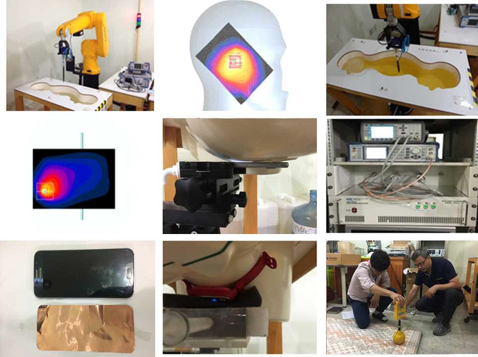 중소기업 인체보호 SAR & 전자파 강도 측정지원 사진