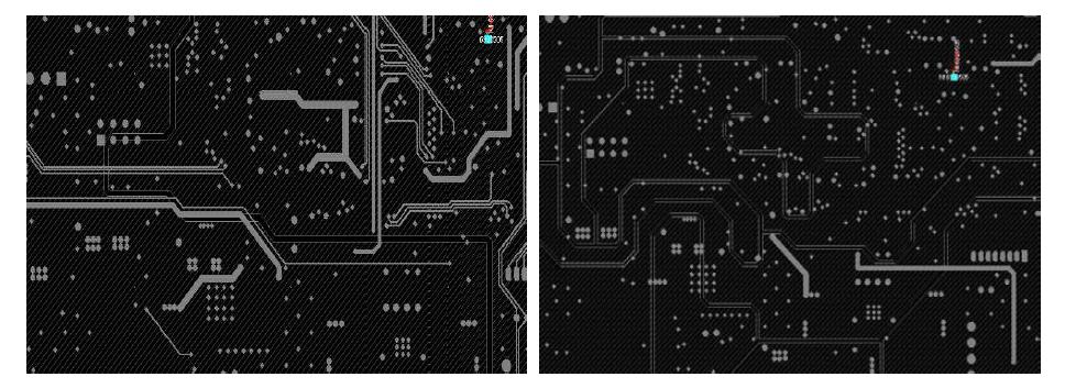 PCB 2, 3층 패턴