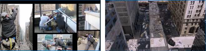 영화 어벤져스2의 도시 공간 촬영 및 영화 장면