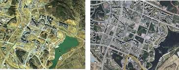 국가공간정보 최신성 비교 사례