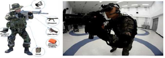 해군 특수전 가상훈련체계 시스템