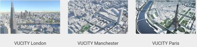 VUCITY의 3D 도시 모델