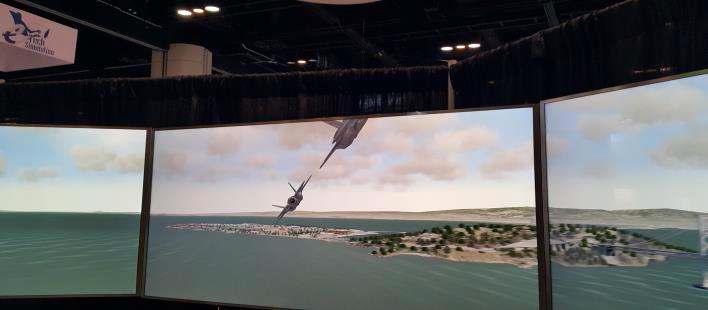 3D 공간정보 기반 가상 저공 비행훈련