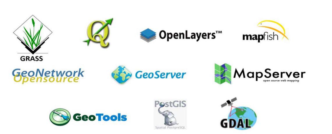 대표적인 Open Source기반 GIS 소프트웨어