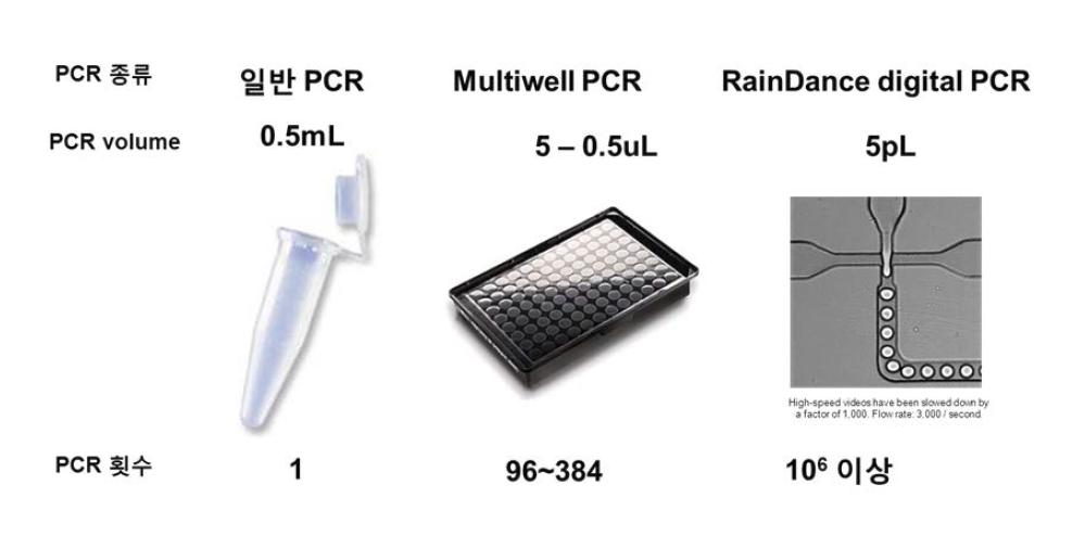 RianDrop digital PCR의 특징