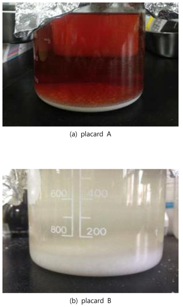 Product after methanolysis