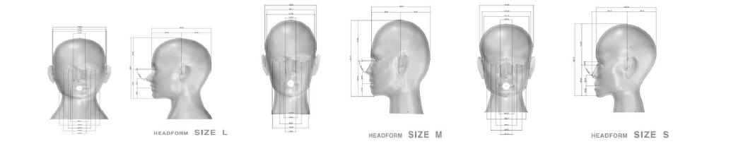 시험용 표준머리모형