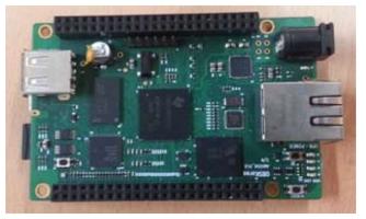 (주)오픈비지니스솔루션코리아의 CPU 보드 실물 사진