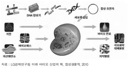 합성생물학의 원리 및 활용