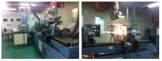 광섬유 모재 제조를 위한 MCVD 시스템