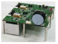 광섬유 펄스 레이저의 1차 증폭 모듈 예시