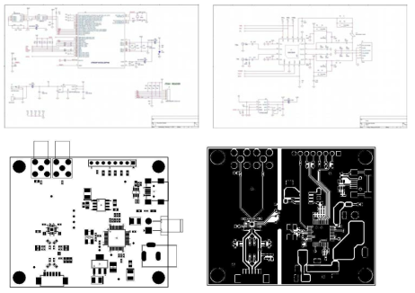 10GHz Optical pulse driver PCB 설계도