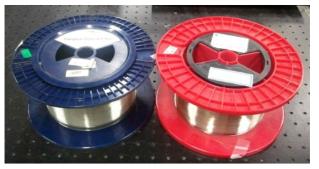 제조된 N-PM 기반 레이저 발진용 단일모드 Yb/Al 첨가 특수 광섬유 시제품