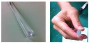 이중 클래딩 대면적 외부 굽힘 저손실 레이저 발진용 특수 광섬유 모재