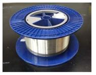 제조된 저출력용 PM 단일모드 Yb 첨가 저손실 특수 광섬유 시제품