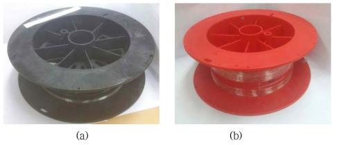 최적화된 (a) N-PM 및 (b) PM 기반 고출력 저손실 레이저용 대면적 특수 광섬유 시제품