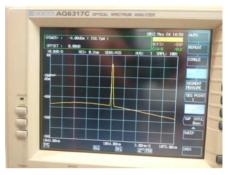 되먹임 광섬유 격자를 이용한 Seed LD의 출력 스펙트럼