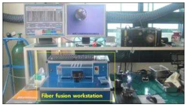 펌프 광 집속기제작 시스템: fiber fusion workstation