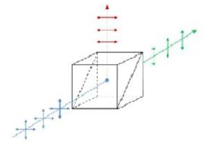 편광 빔 스플리터의 원리