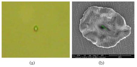 PM PS MOPA 10 W급 UV 레이저 시스템을 활용한 1 μm 선폭 가공 결과