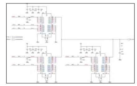고속 고전류 출력 Pulse Modulation part 회로